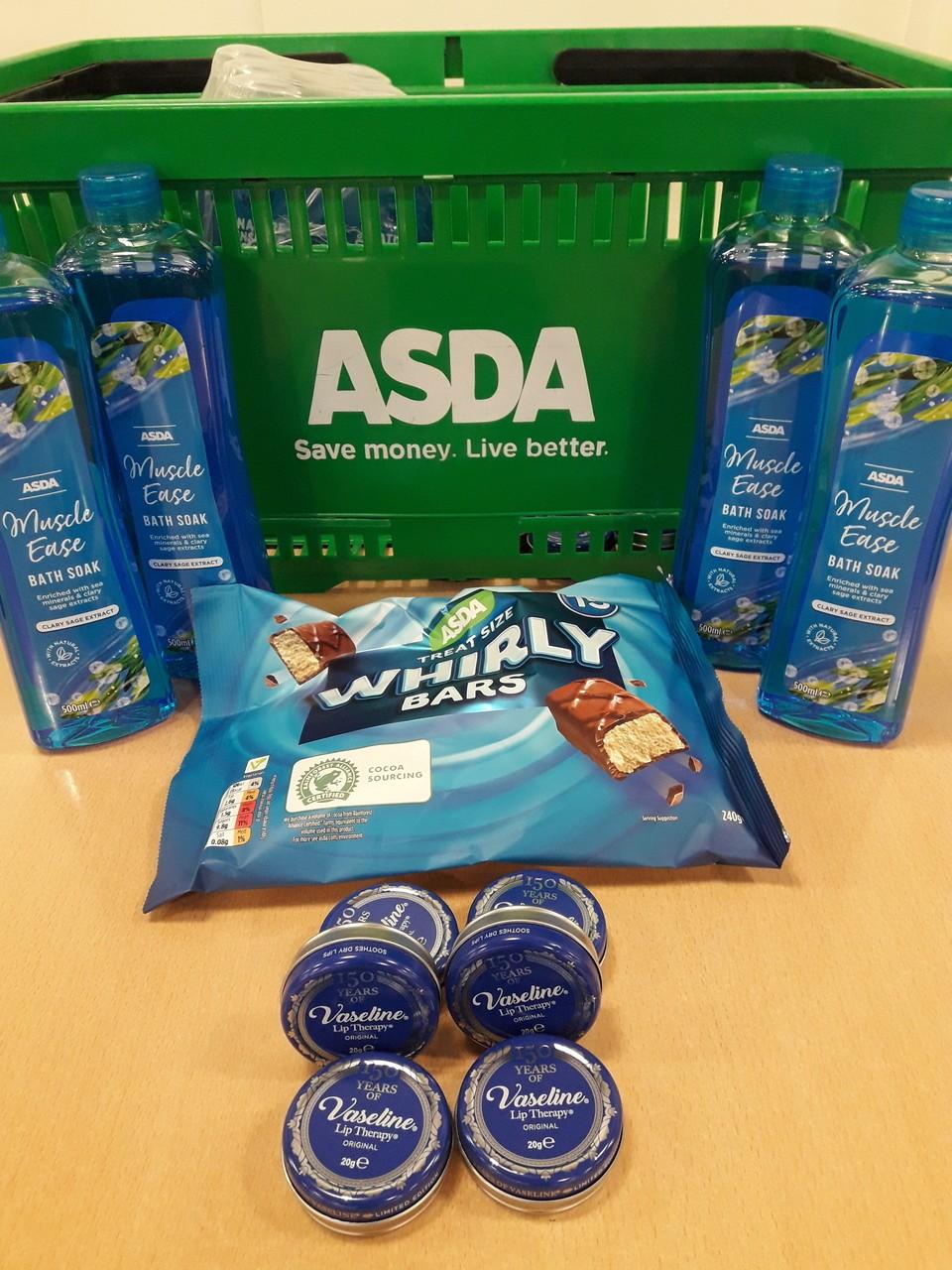 Local donations   Asda Carlisle