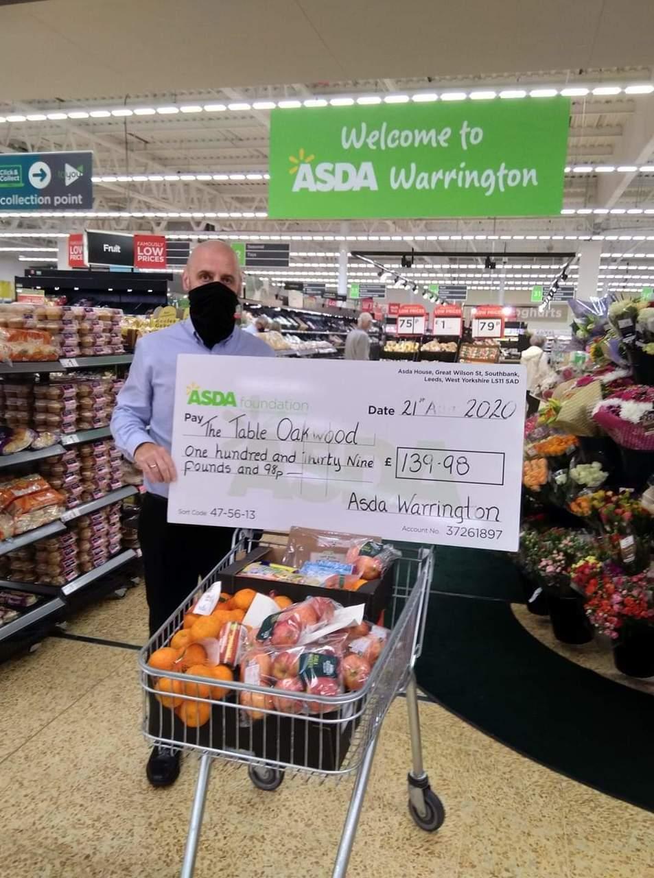 Healthy Holidays grant | Asda Warrington