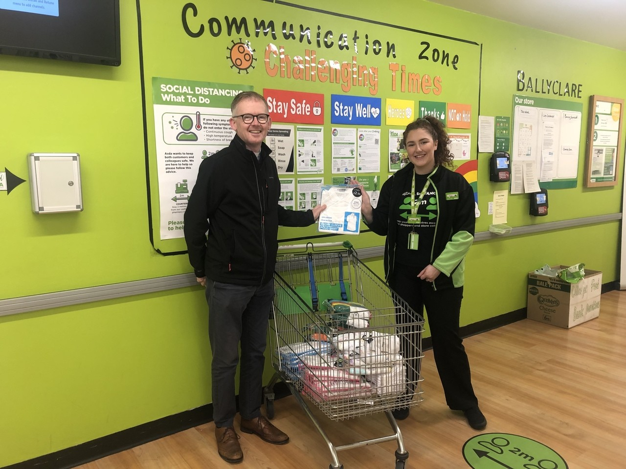 Ballyclare School Uniform Recycling Scheme | Asda Ballyclare