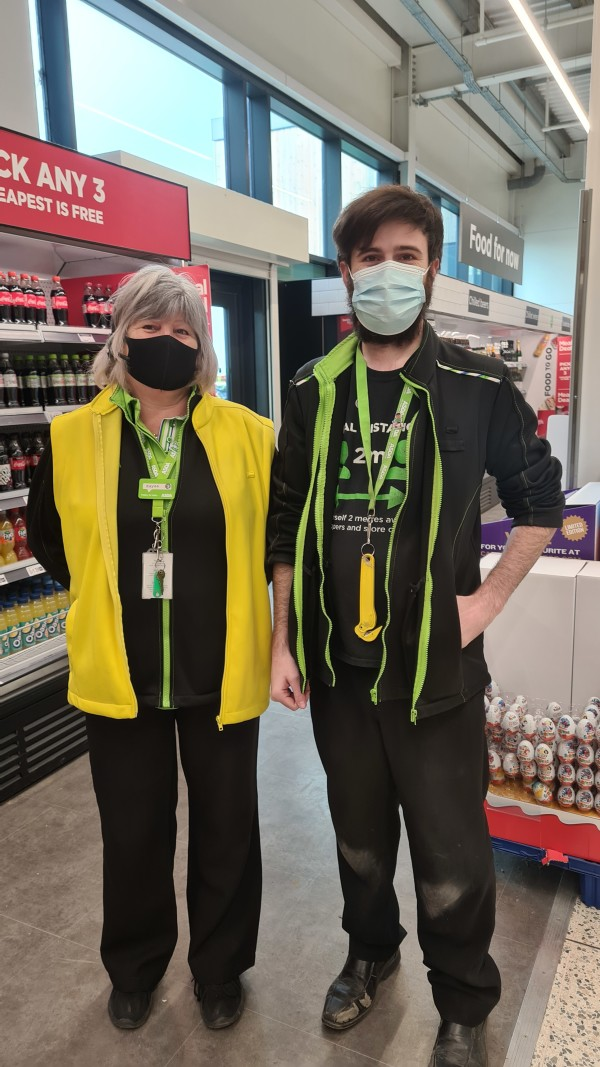 Happy Mother's Day at Asda Newport Isle of Wght