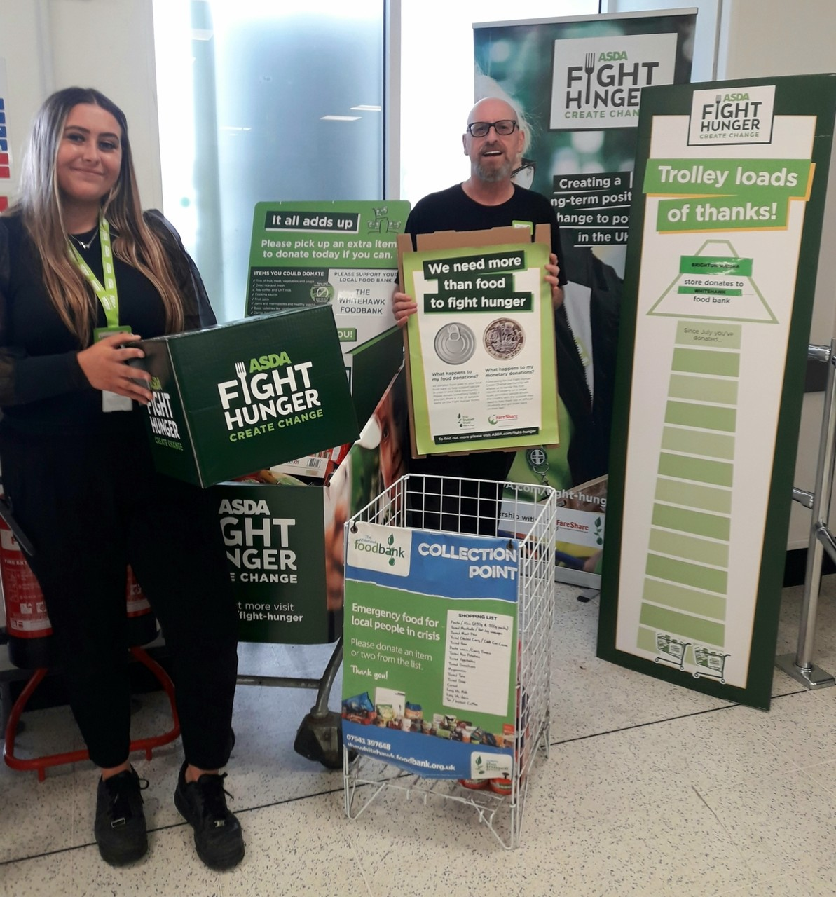 Brighton Marina - Fight Hunger | Asda Brighton Marina