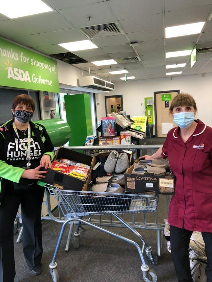 Donation to Ashwood Court Unit 1 | Asda Golborne