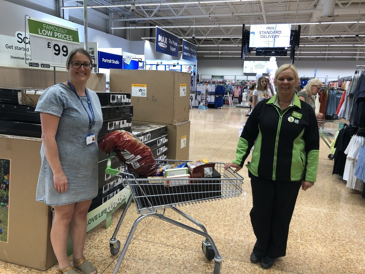 Donation to our amazing nurses  | Asda Derby