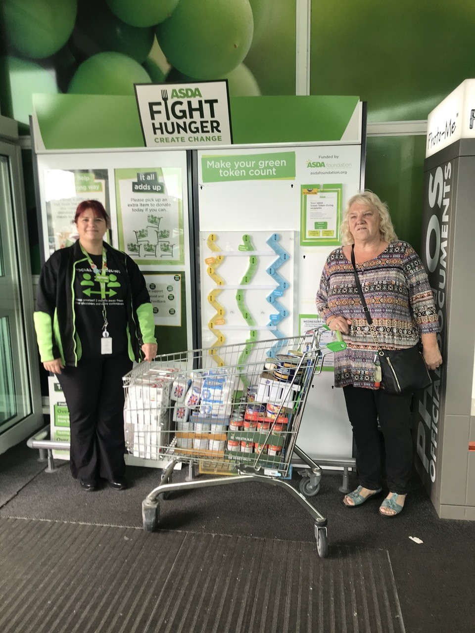 Food bank donation | Asda Blackwood