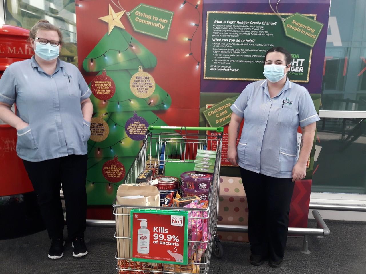 St Luke's care home donation | Asda Runcorn