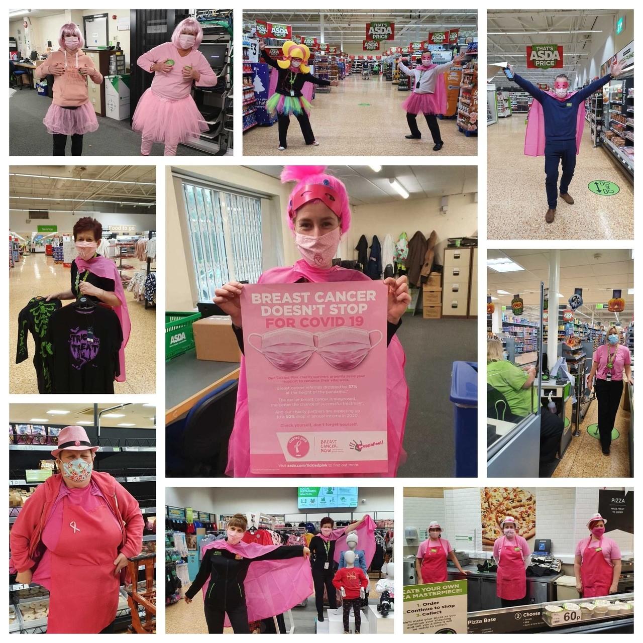 Tickled Pink at Asda Derby | Asda Derby