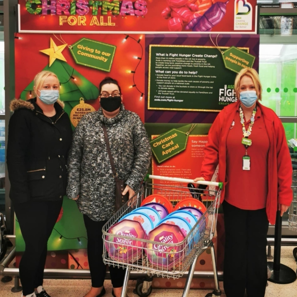 Donation to our local care home | Asda St Leonards on Sea