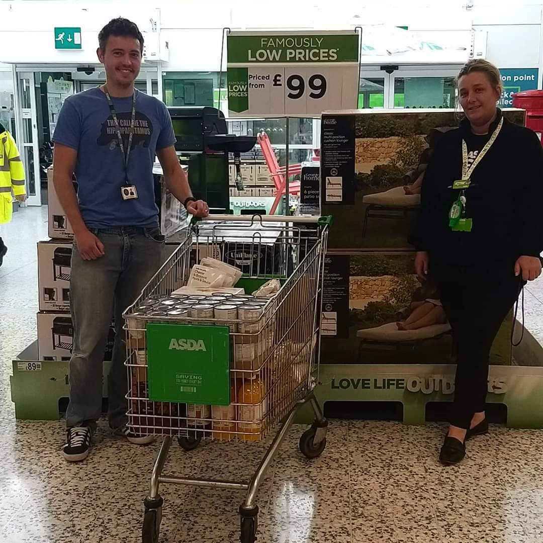 Food bank support | Asda Blyth