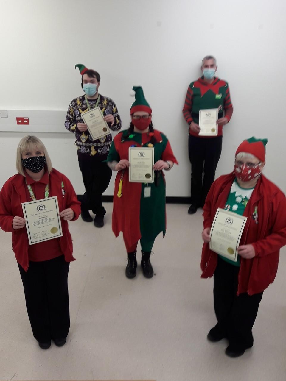 Colleagues receive British Citizen Award | Asda Boston