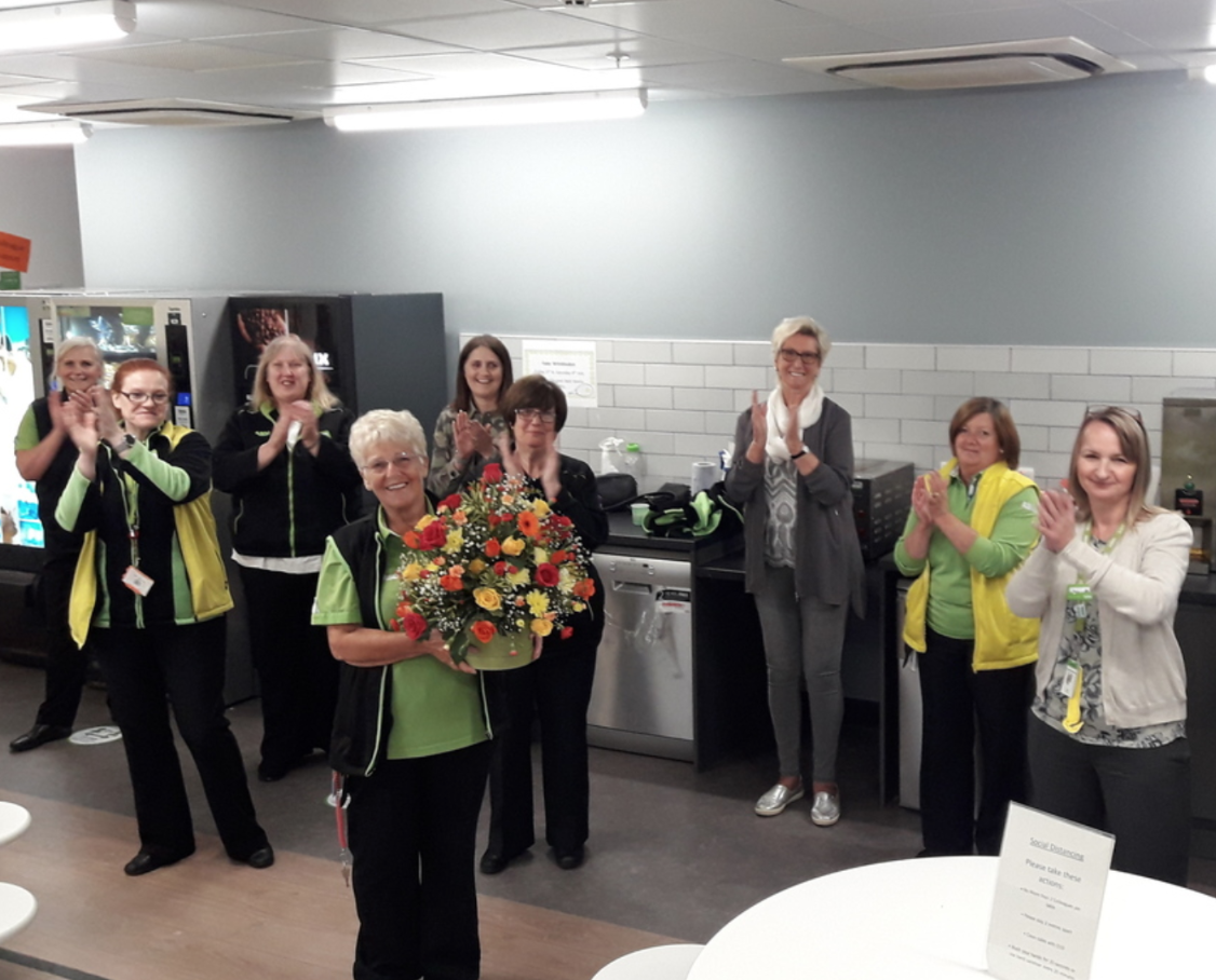 Eileen retires after 41 years!  | Asda Darlington
