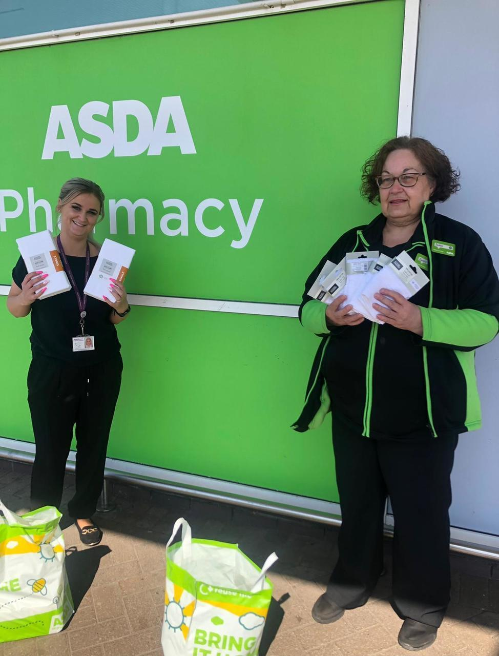 DONATION TO ALICE HOUSE HOSPICE | Asda Hartlepool
