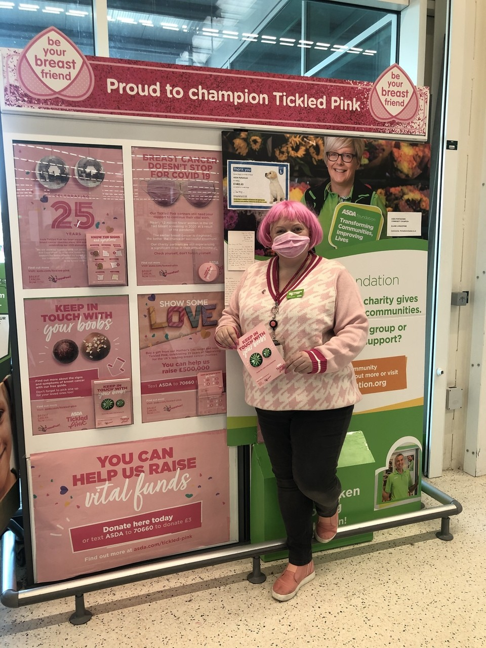 Tickled Pink Mothers Day weekend | Asda Portadown