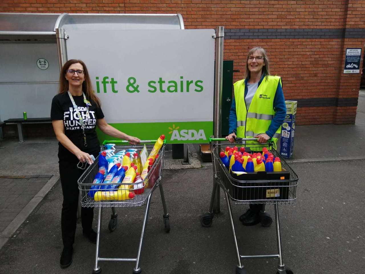 Oadby Foodbank in store today.. | Asda Oadby