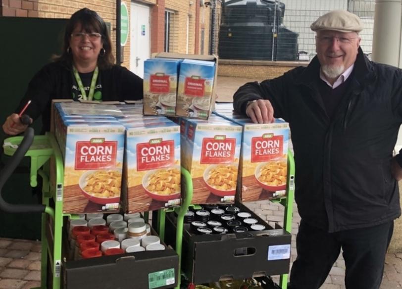 Foodbank support | Asda Downpatrick