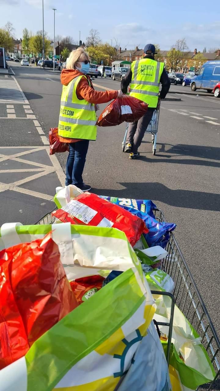 Ramadan donation helps the homeless | Asda Small Heath