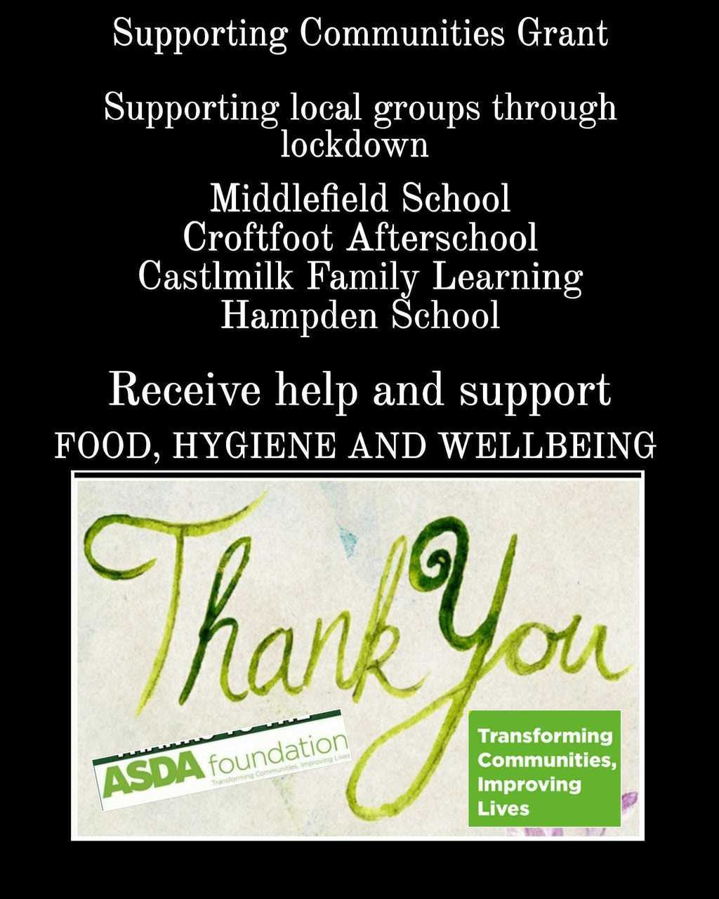 Supporting Our Community | Asda Toryglen