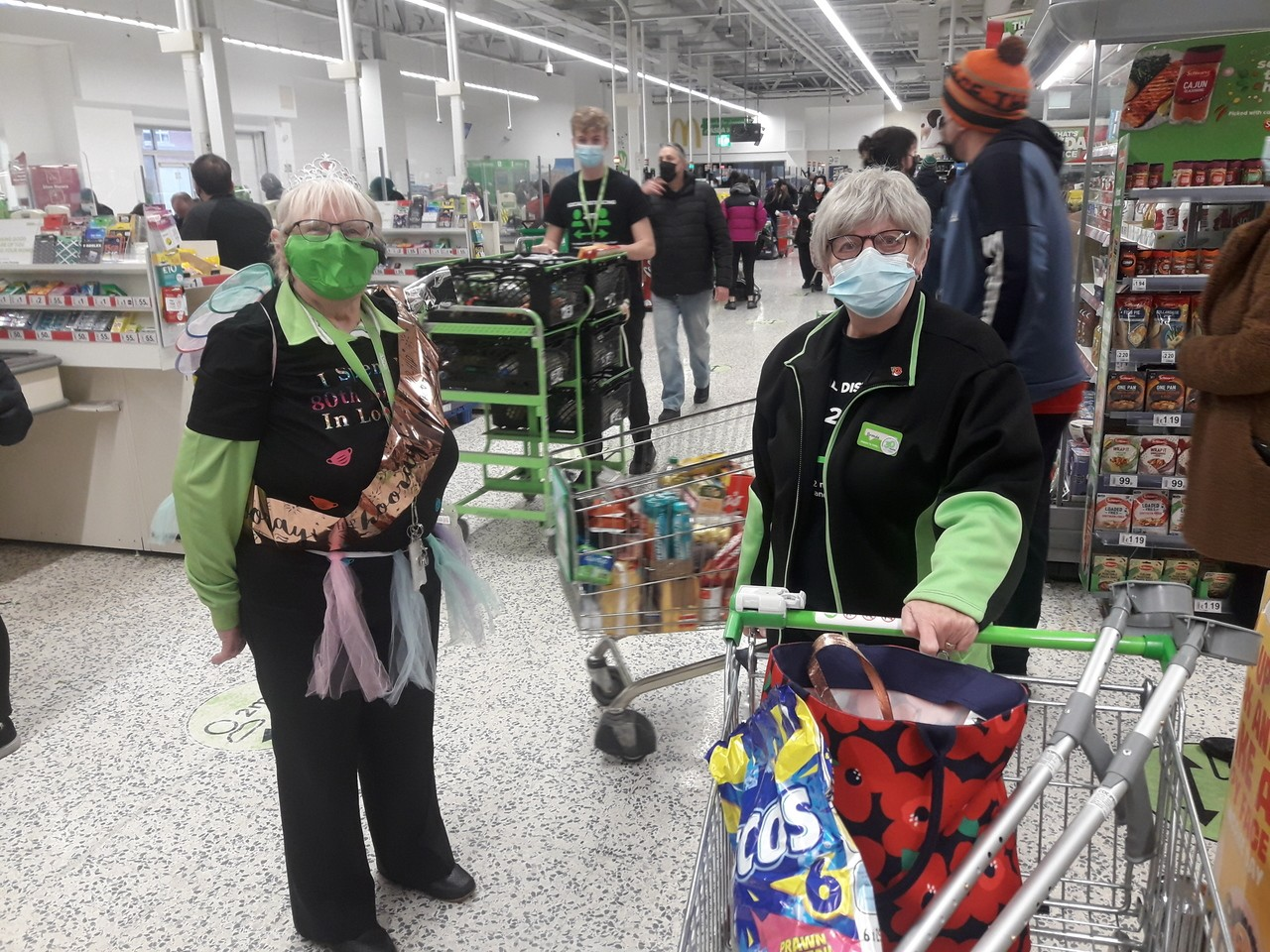 Happy 80th birthday to Val from Asda Bedminster  | Asda Bedminster