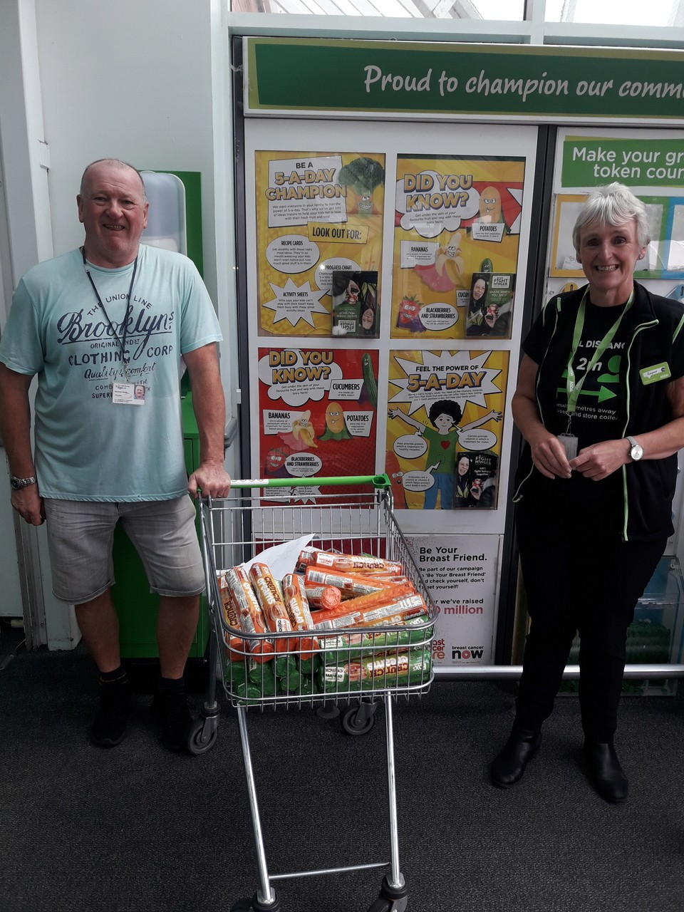 Donation to Age UK | Asda St Helens
