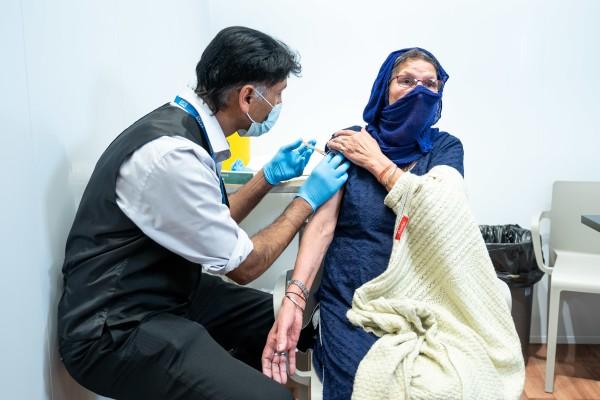 Asda Cape Hill Vaccination Centre 2