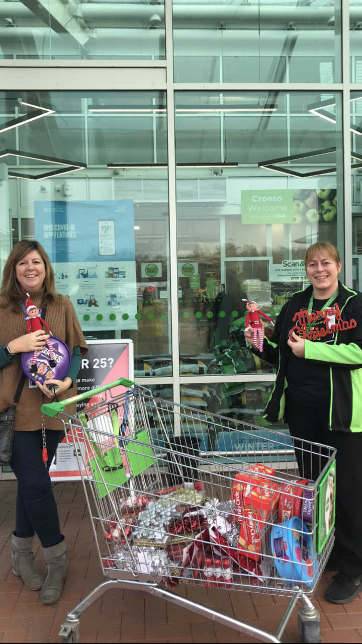 Christmas tree donation  | Asda Cardiff Bay
