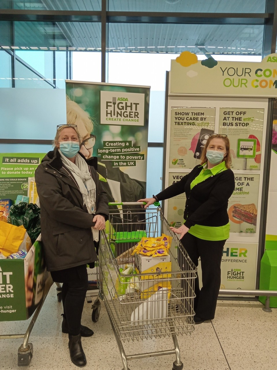 Eggs for the children at At Patricks primary school. | Asda Newport Pillgwenlly