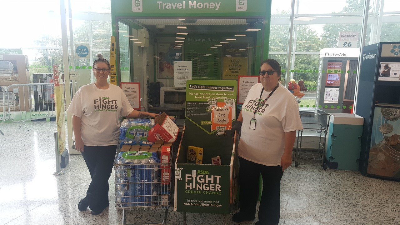 Fight Hunger Create Change | Asda Ipswich
