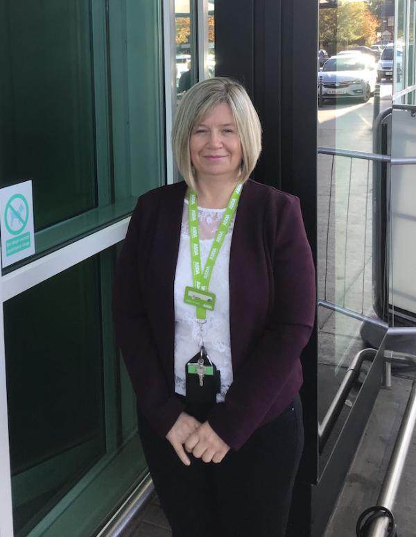 Karen Clarke from Asda Ellesmere Port