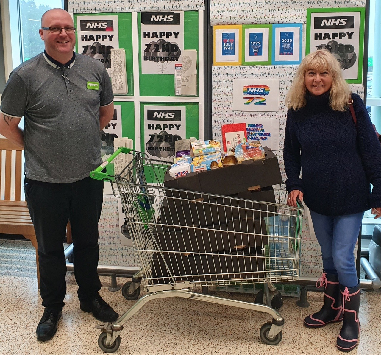 Plymouth Pie Club donation | Asda Plymouth