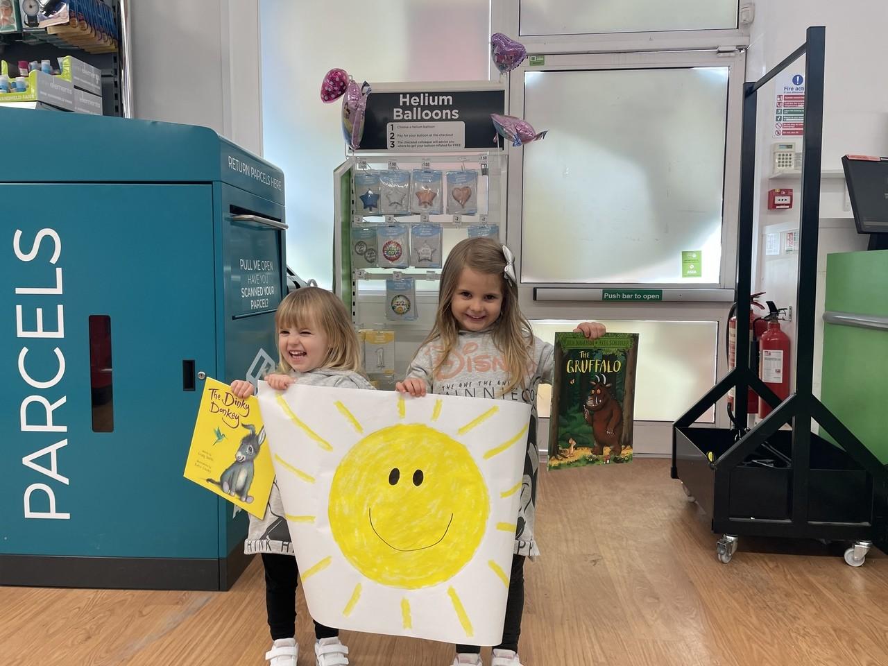 Spreading a little sunshine | Asda Shrewsbury