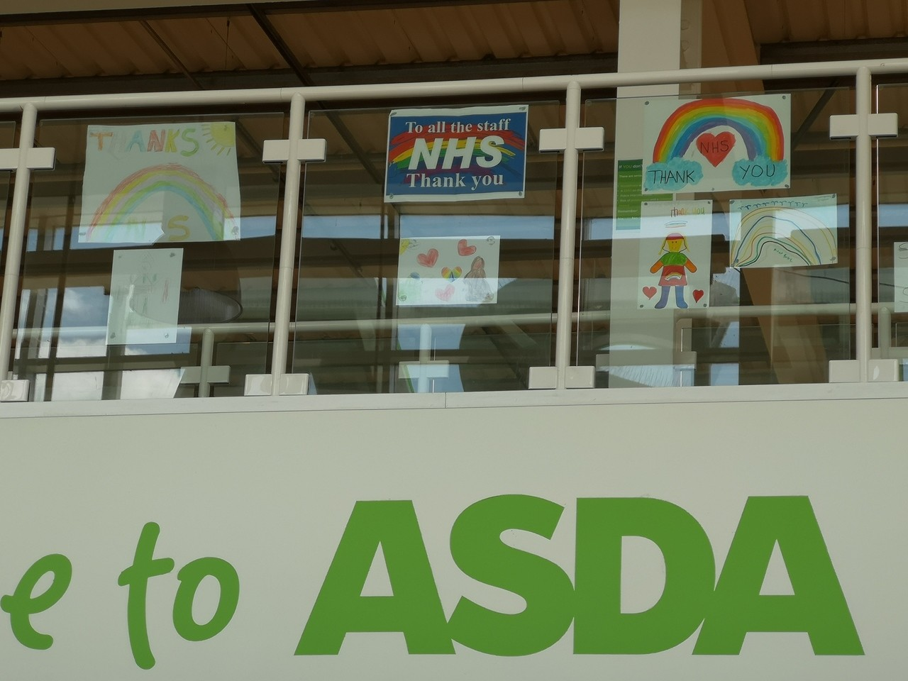Thank you NHS | Asda Long Eaton