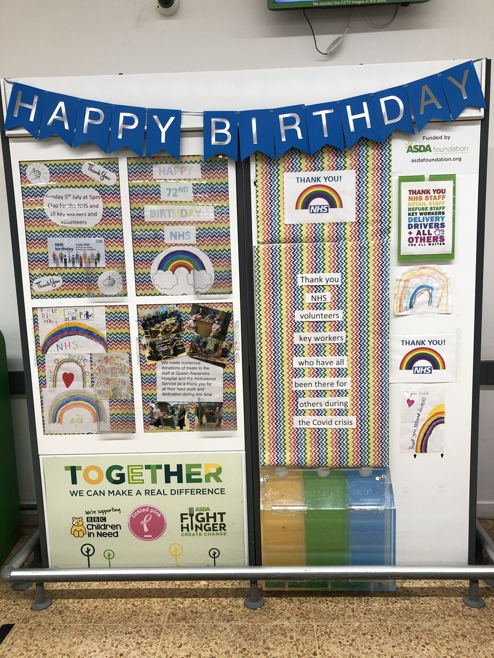 Happy birthday NHS | Asda Waterlooville
