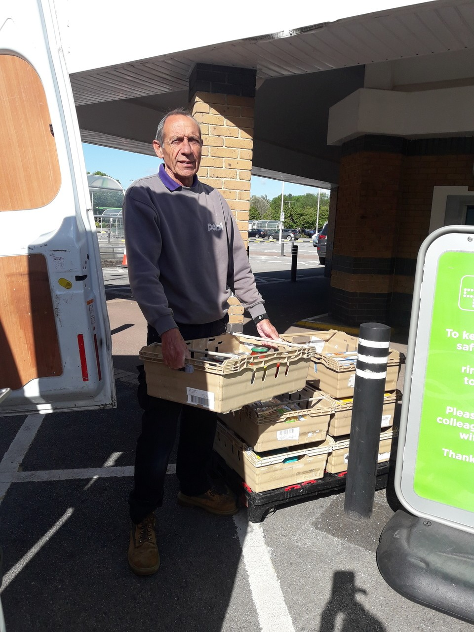Well done Gary | Asda Newport
