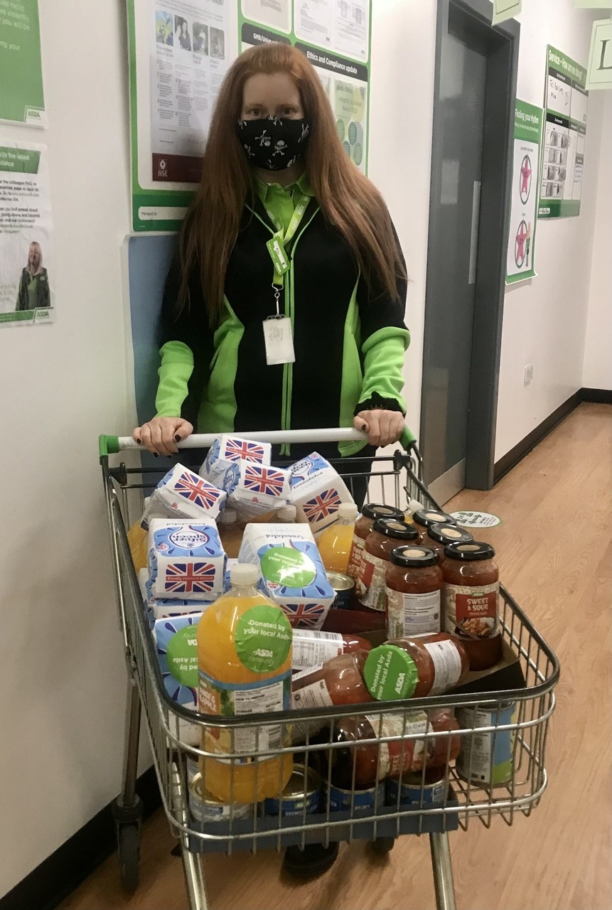 Fair Frome Foodbank donation | Asda Frome