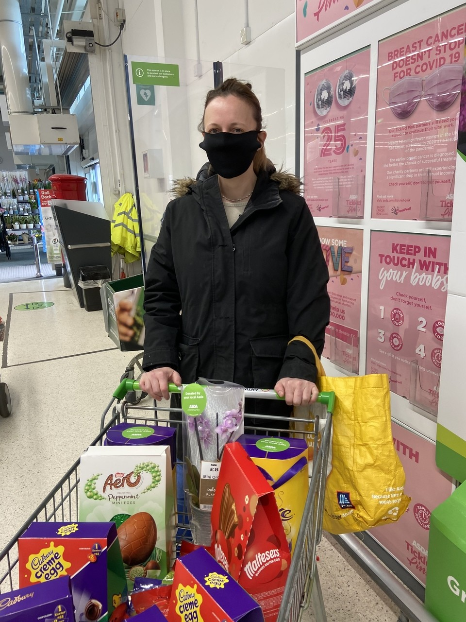 Eggstra special donation | Asda Biggleswade