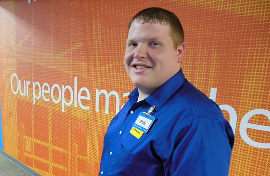 Ryan Pollack at Walmart Home Office