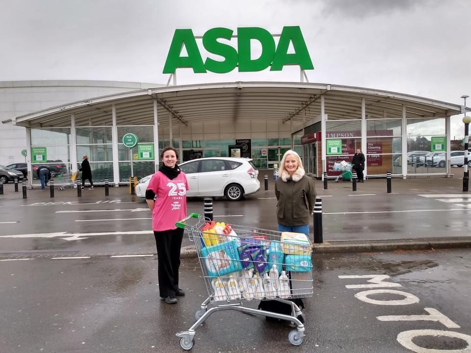 Help to fight hygiene poverty! | Asda Leyton Mills