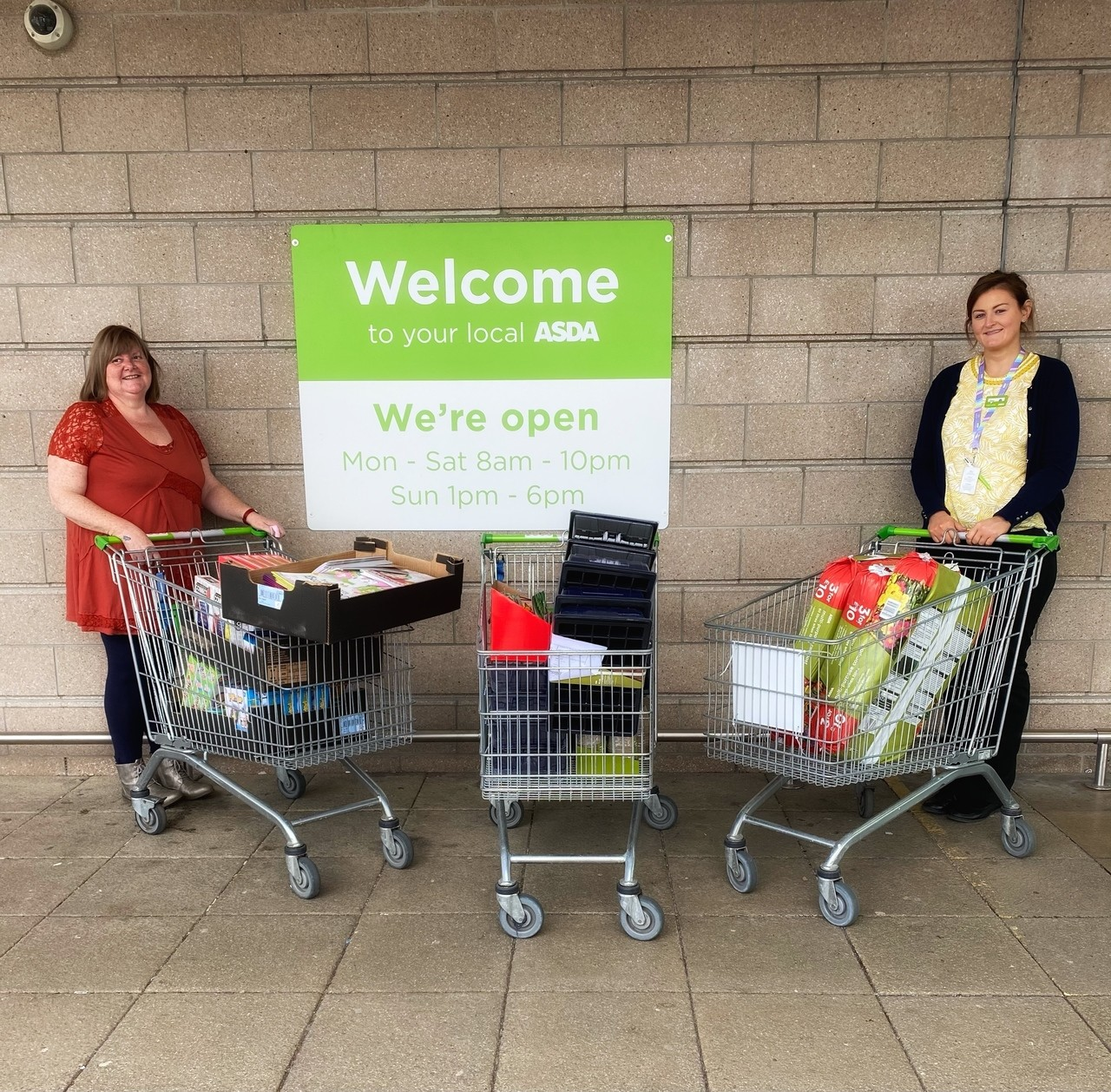Supporting Communities grant | Asda Cookstown