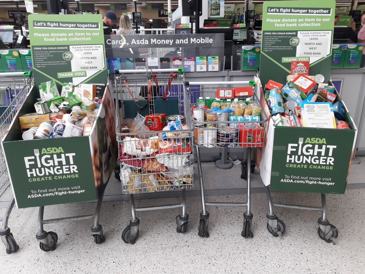 Fight Hunger | Asda Pudsey