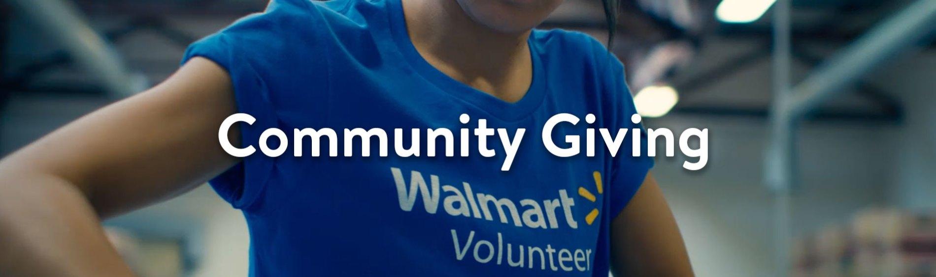 Community Giving