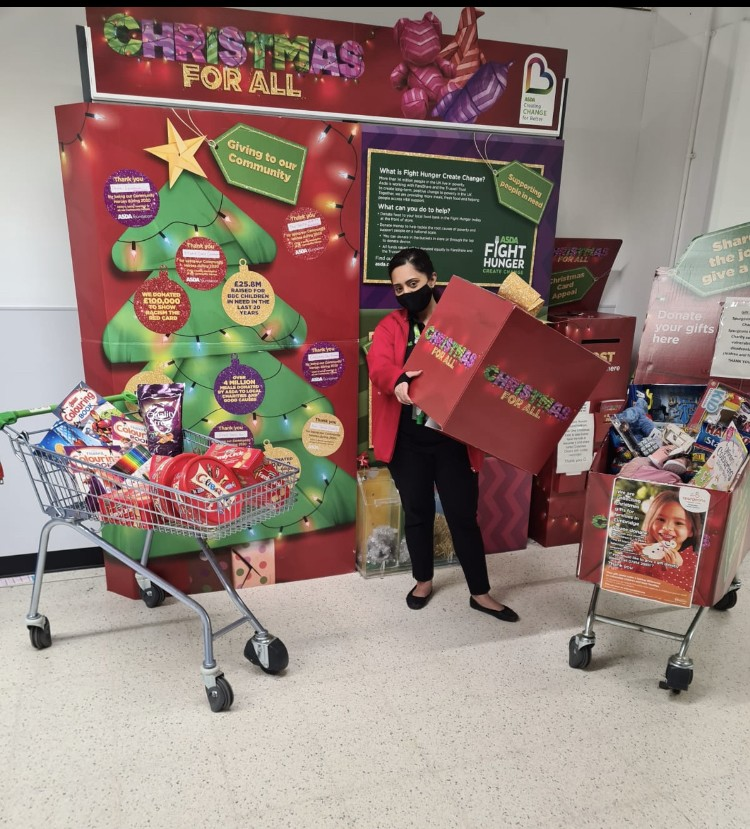 Amazing support for gift appeal | Asda Feltham
