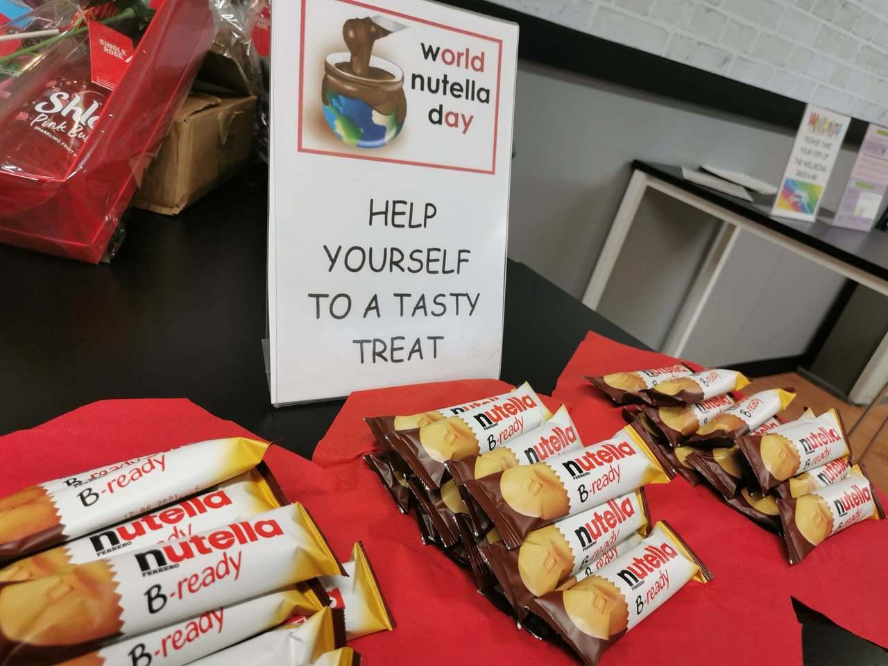World Nutella Day | Asda Falkirk