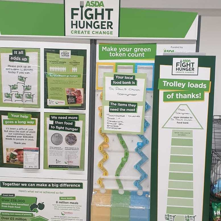 Fight Hunger Create Change in Spennymoor | Asda Spennymoor
