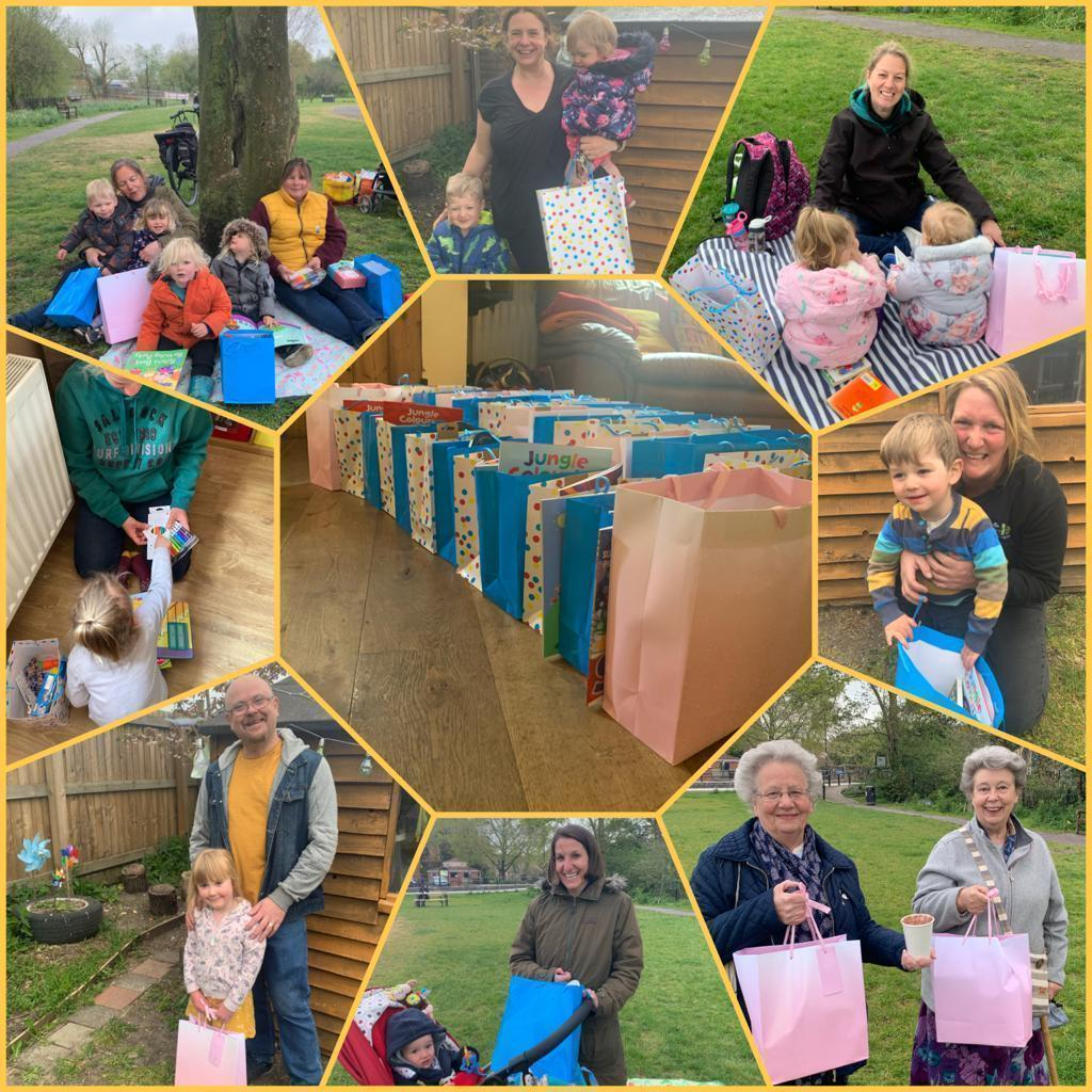 Supporting the communities grant for Little Cherubs   Asda Gillingham