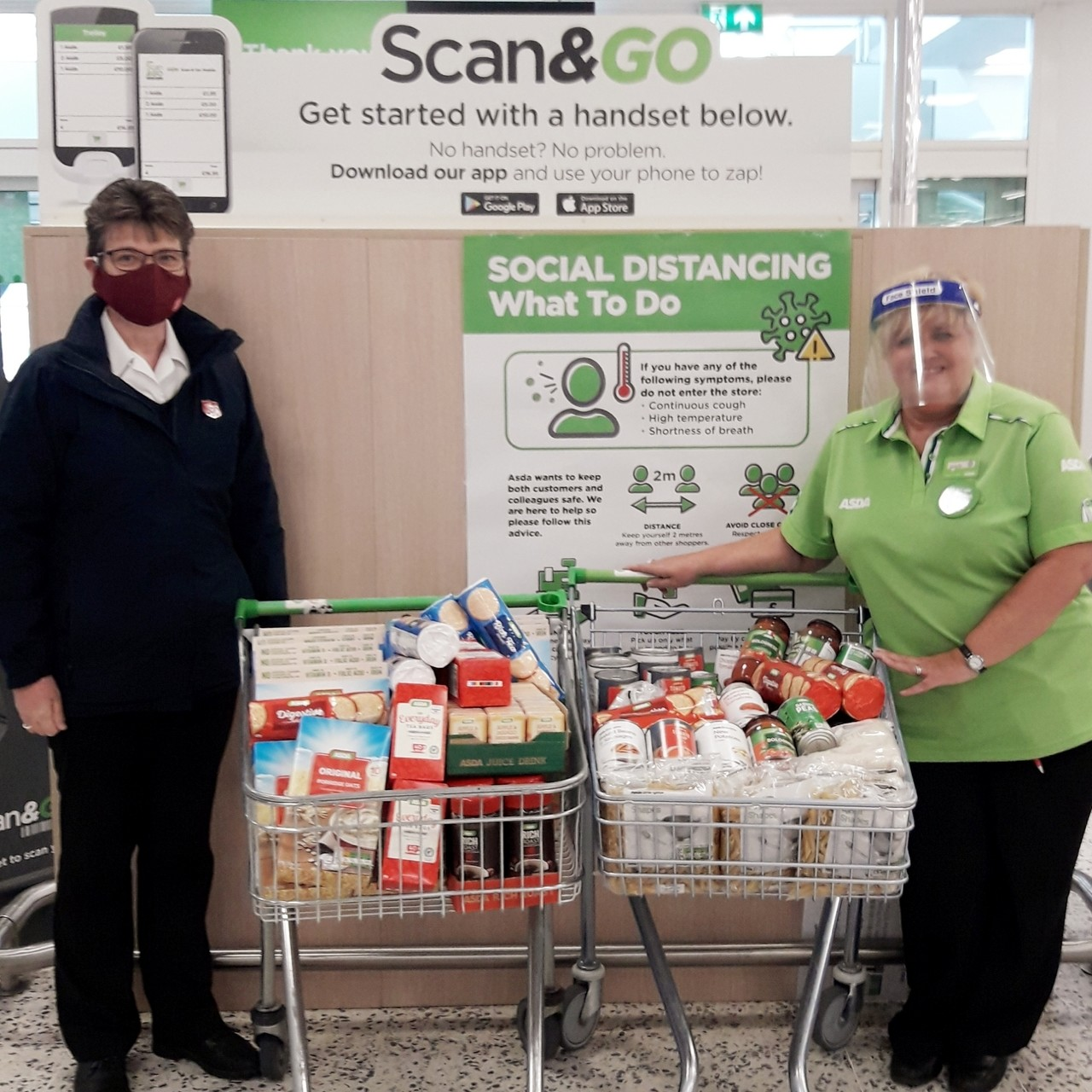 Food parcels  | Asda Gosforth