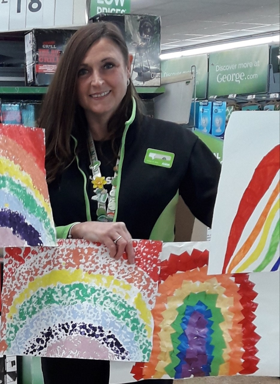 Beautiful rainbow pictures sent in from the children at Christ Church Primary School  | Asda Longwell Green