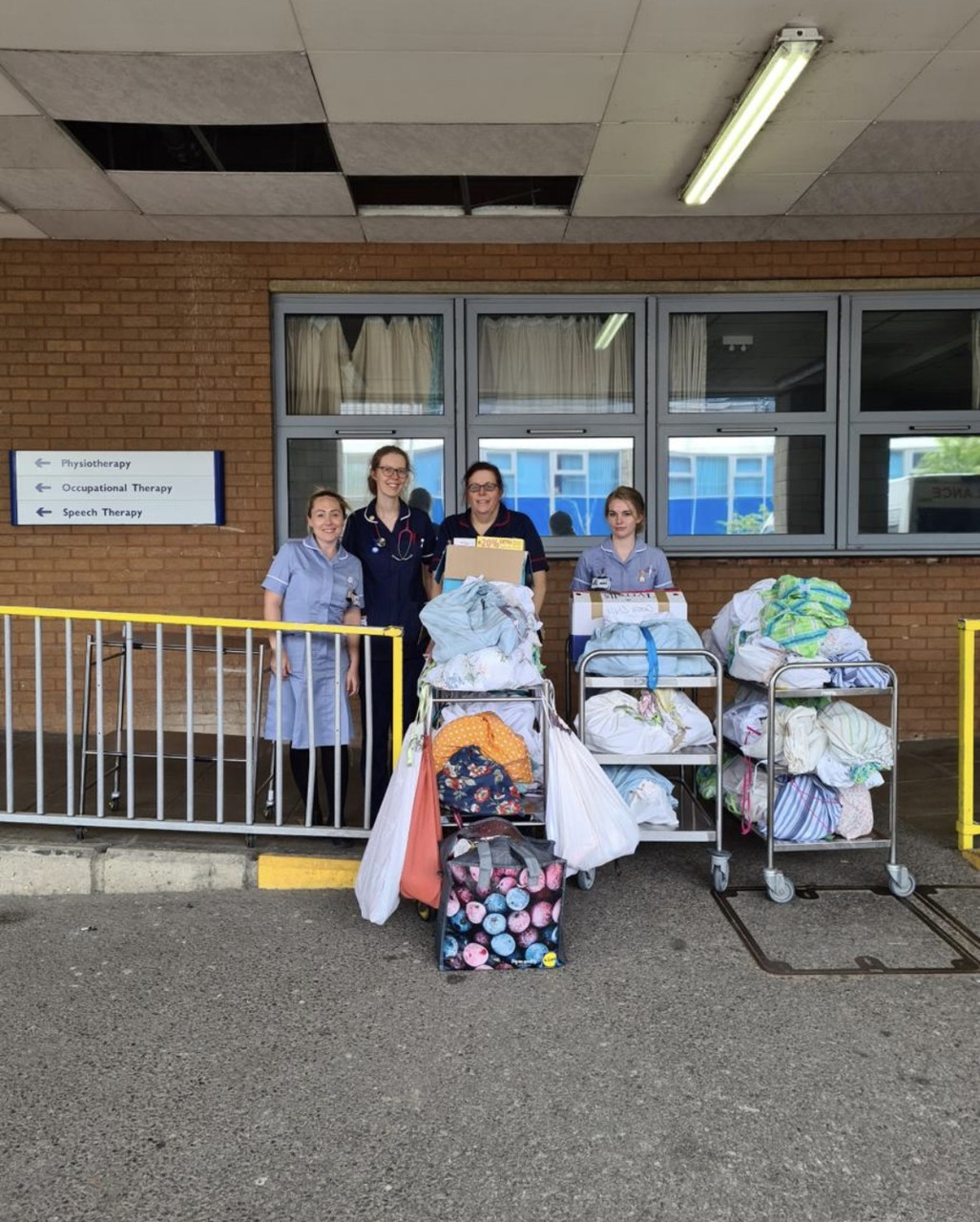 Donation to Southampton General Hospital | Asda Totton