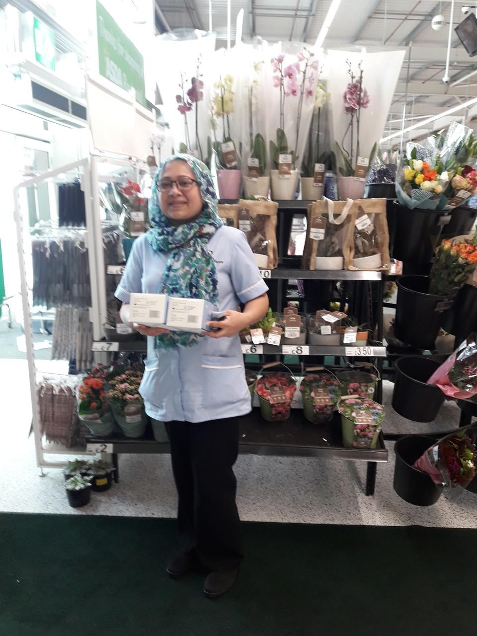 Face masks donation from Asda Rawtenstall | Asda Rawtenstall