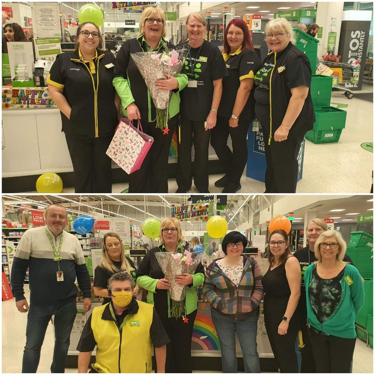 Farewell Margaret | Asda Donnington Wood