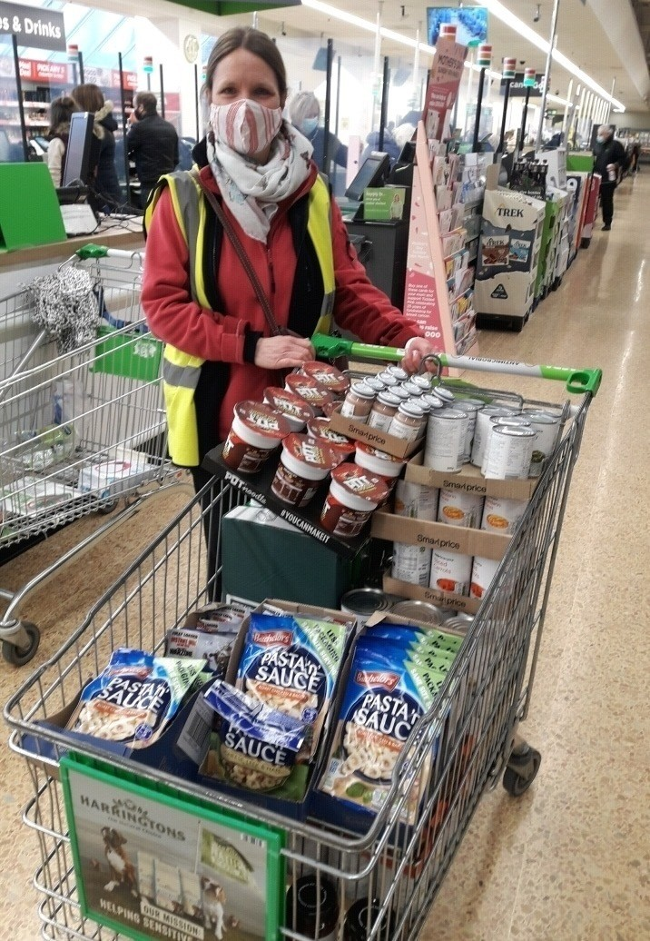 Donation to St Paul's Pantry | Asda Crewe