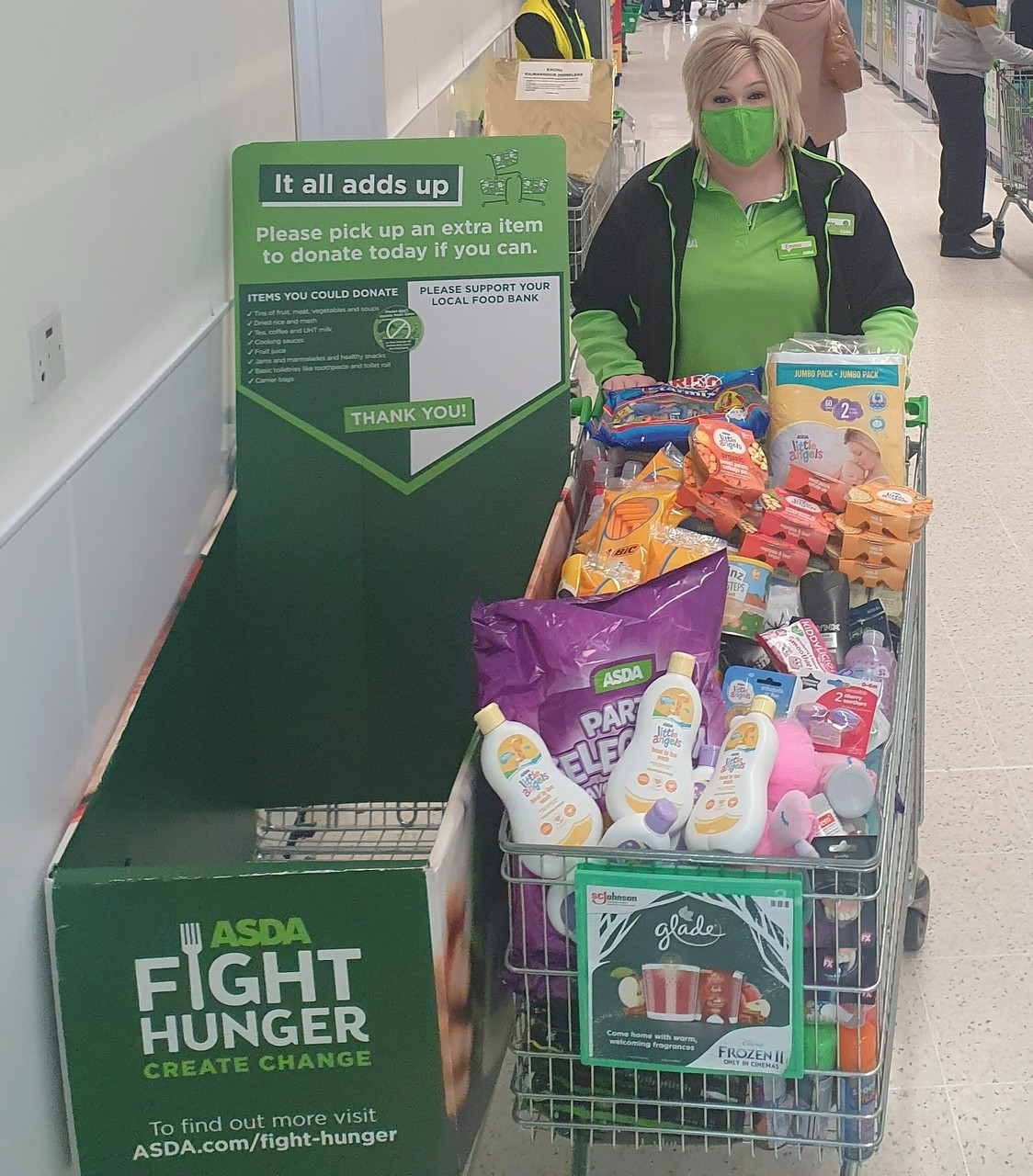 Ayrshire East Foodbank donation | Asda Kilmarnock